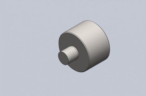 レンズ金型入子外形加工