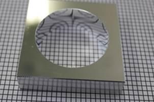 アルミ合金製 内面鏡面切削加工品