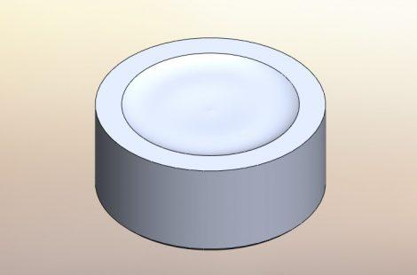 レーザー干渉計用Nullミラー原器